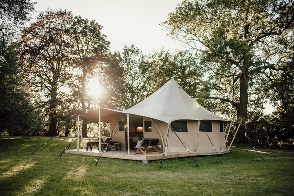 Glamp site lodge marquee for sale