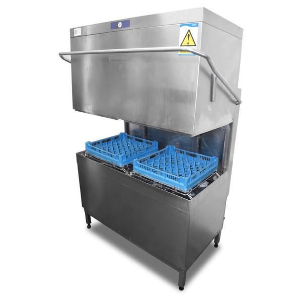 Used Hobart Double Pass Through Dishwasher