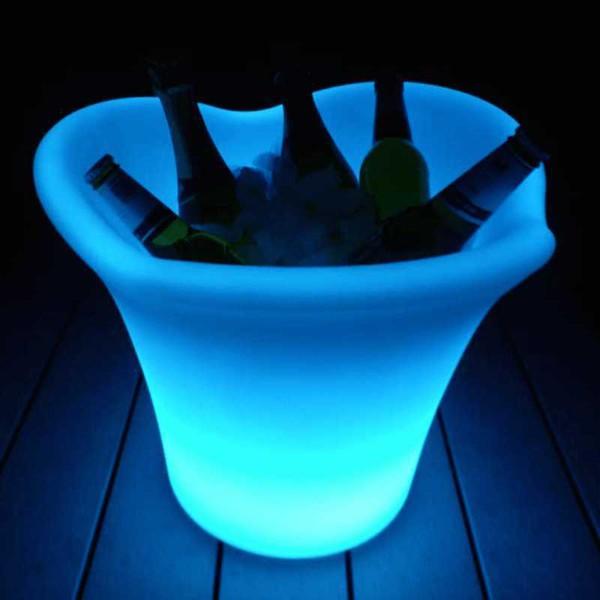 Lumaform LED 4 lip Ice Buckets/Wine Coolers