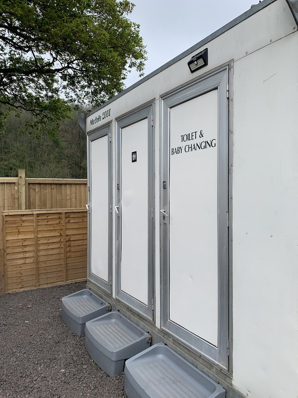 Buy Self-Contained Toilets Unit x6 Cubicles