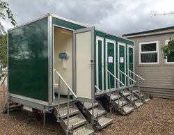 10 Bay Toilet Unit