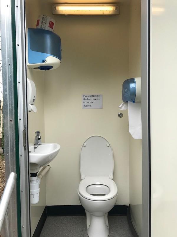 10 Bay Toilet Unit for sale