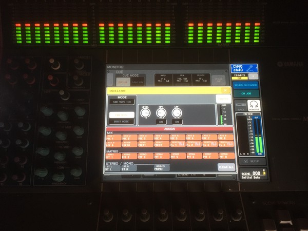 Selling Second Hand Yamaha M7CL 48 Mixer