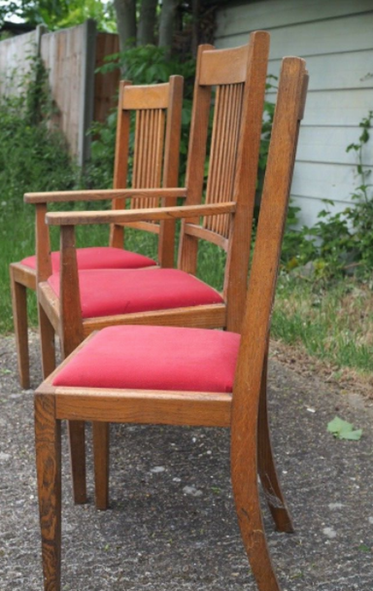 Antiques Bazaar Dining And Banqueting Chairs Six Dining Oak Dining Chairs London