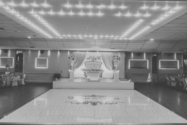 White LED Dancefloor 20ft by 20ft