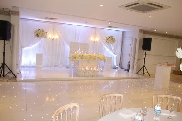 White LED Dancefloor 20ft by 20ft for sale