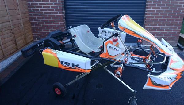 Robert Kubica Birel Art chassis  for sale
