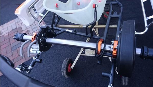 Used Robert Kubica Birel Art chassis