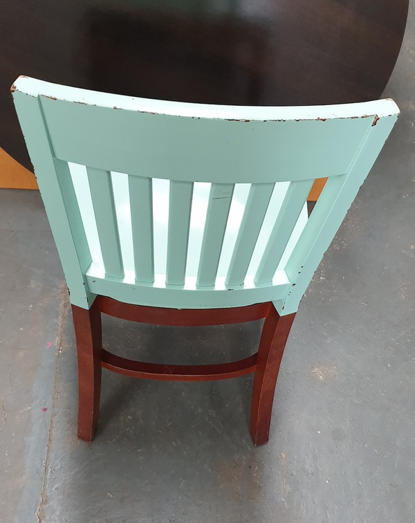Painted  Jailhouse Chairs
