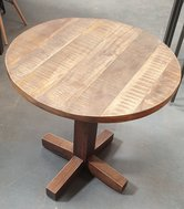Solid Oak Round Tables
