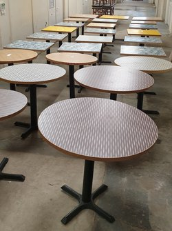 Used Laminated Tables