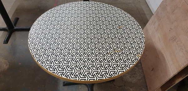 Round Laminated Table Tops