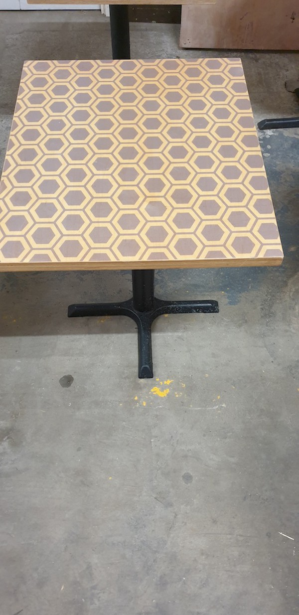 Square Laminated Table Tops