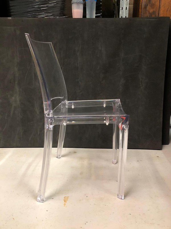 Stackable Ghost Chairs