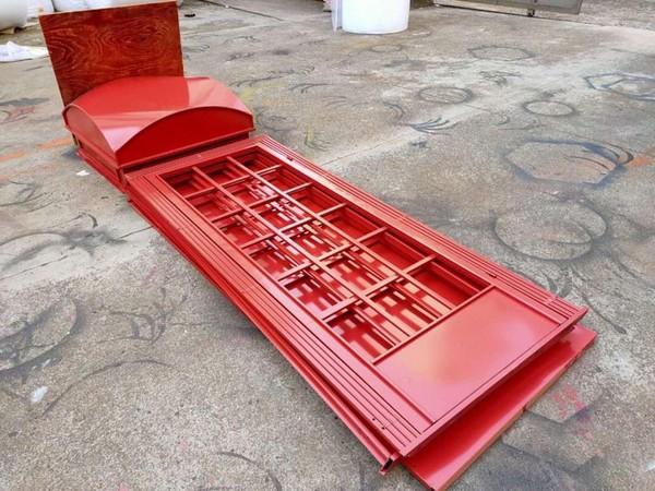 Portable fold flat phone box prop