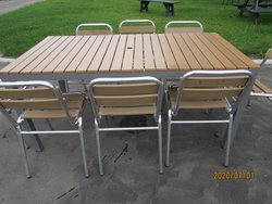 New Large Outdoor Tables Seats 8