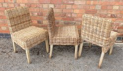 Traditional Wicker Chairs