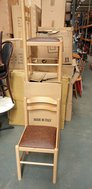 New Wooden Dining Chairs For Sale Job Lot