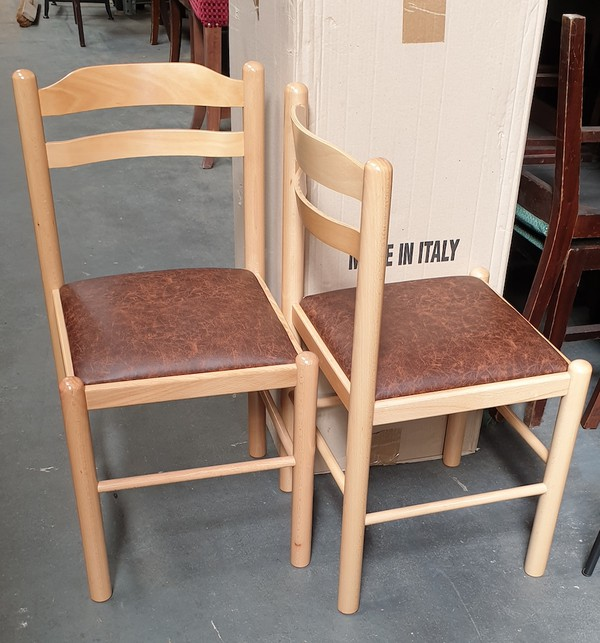 New Italian Wooden Dining Chairs