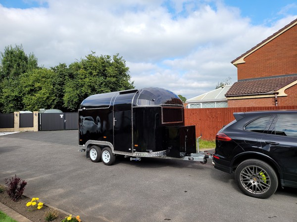 New Airstream Mobile Catering Trailer