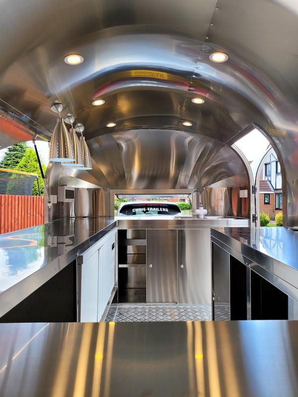 Airstream Mobile Catering Trailer Interior