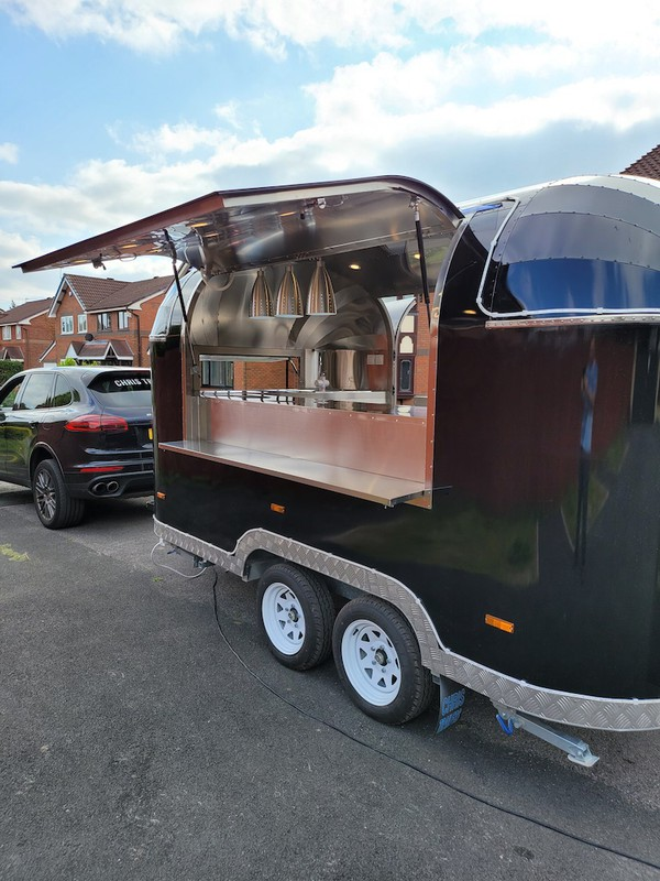 Order a Airstream Mobile Catering Trailer