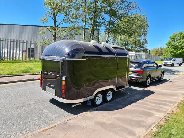 Airstream burger trailer