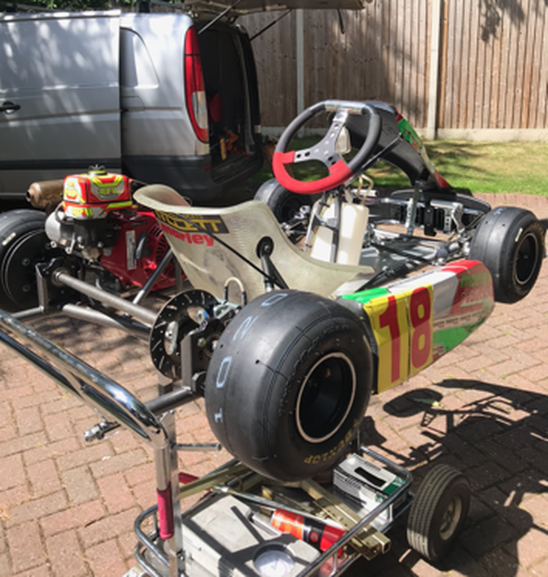 Cadet Category 8-13 year old kart for sale
