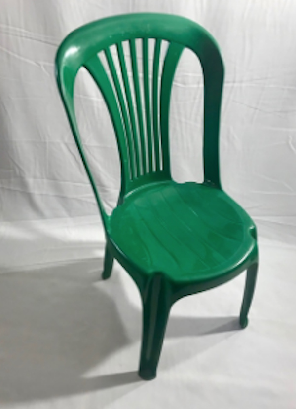 Green Plastic Poly Bistro Chairs