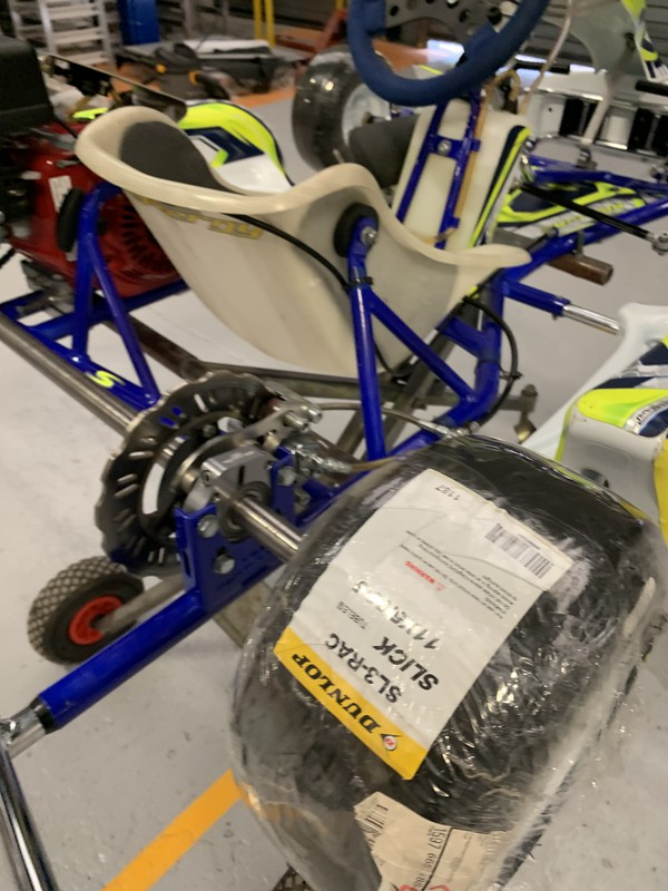 Kart for 8 or 9 year old Cadet series