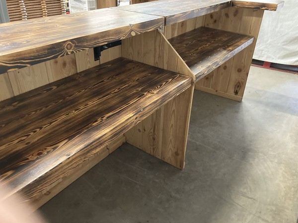 Custom Bar company 10 ft Mobile Bar Counter