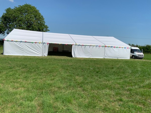 Brand New 12m x 20m Marquee