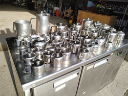 stainless steel milk jugs for sale