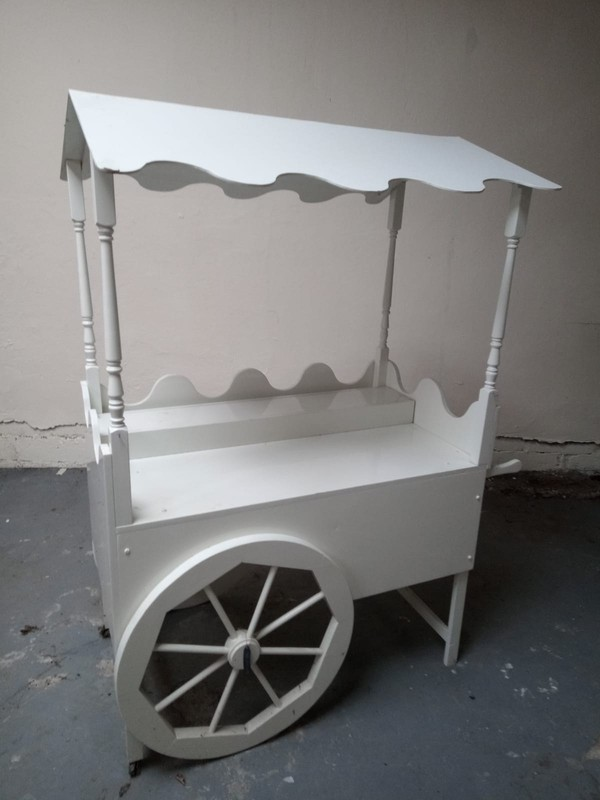 Used Free Standing Sweet Cart for sale