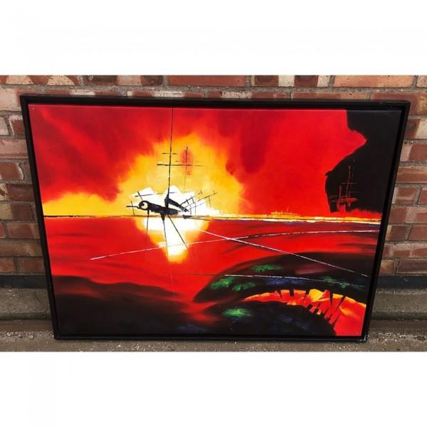 secondhand canvas paints for sale