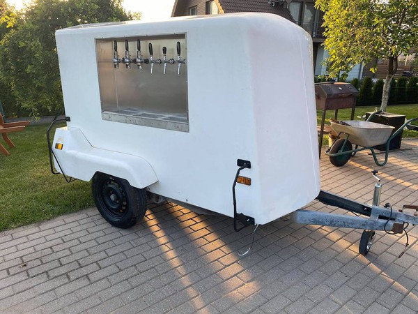 Mobile Beer Bar Pub Trailer Bar Business, Gin Bar, Draught Beer