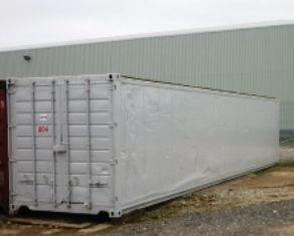40ft Refrigerated Storage Containers