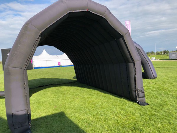 Black Inflatable Tunnel for sale
