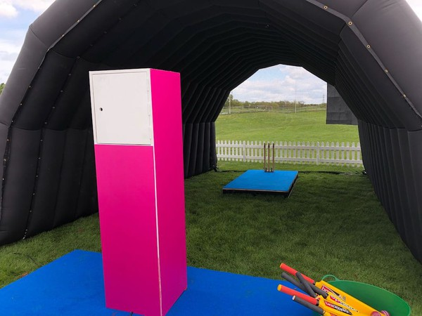 Second Hand Black Inflatable Tunnel