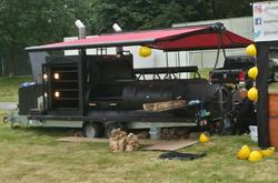 BBQ / smoker trailer for sale
