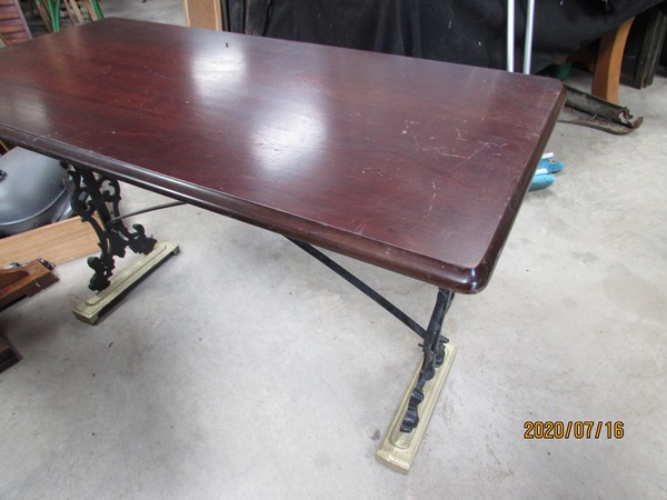 Traditional pub table for sale
