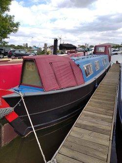 45ft Residential Narrow Boat Swan Line Built 1971