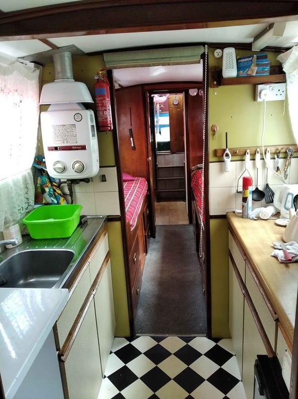 buy used narrrow boat yorkshire