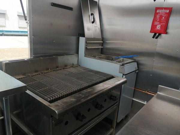 catering trailer fully fitted kitchen
