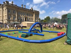 R/C Cars Inflatable Race Track & Cars