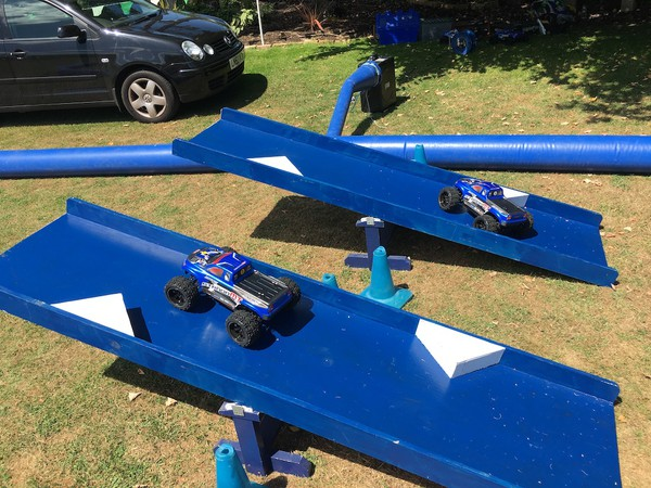 R/C Cars Inflatable Race Track & Cars for sale