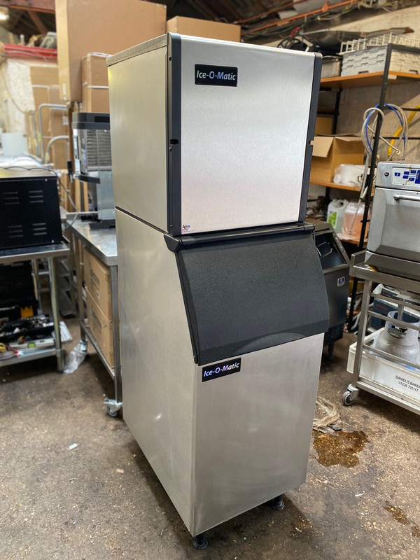 Ice-O-Matic 254kg Modular Ice Machine with Storage Bin for sale