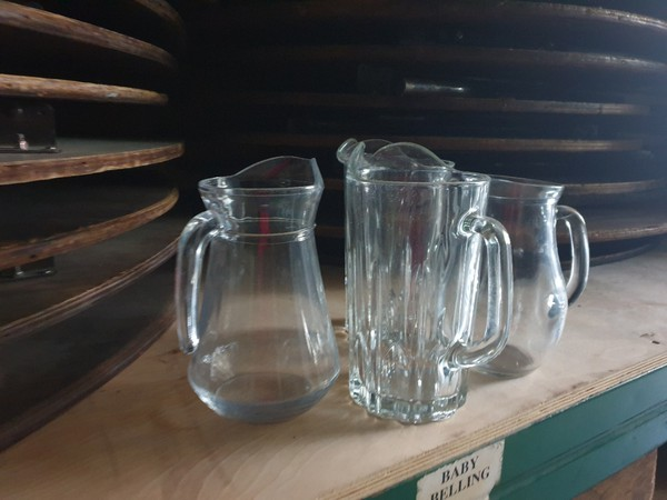 1ltr Glass Water Jugs