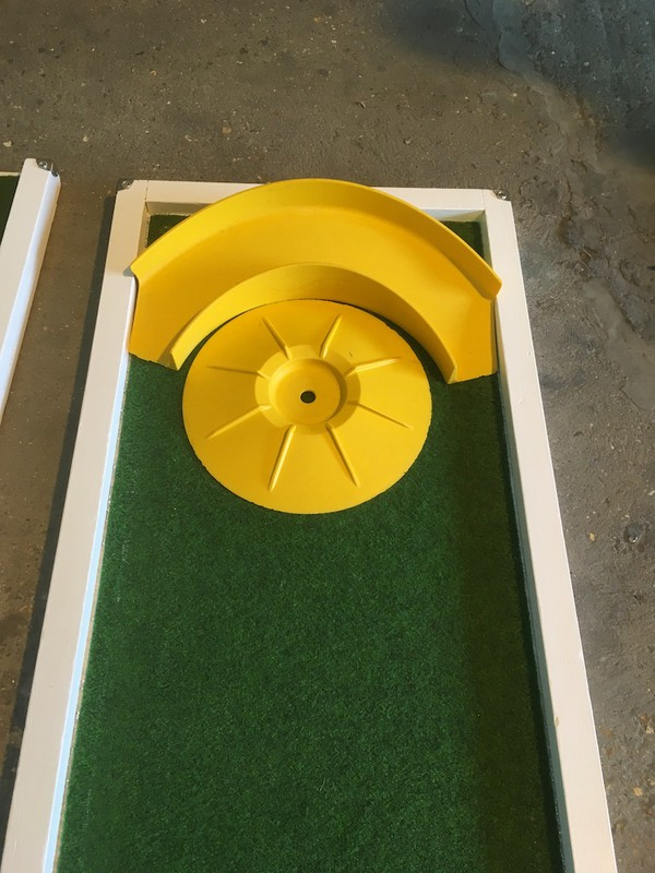 Second Hand Mobile 9 Hole Crazy Golf Activity