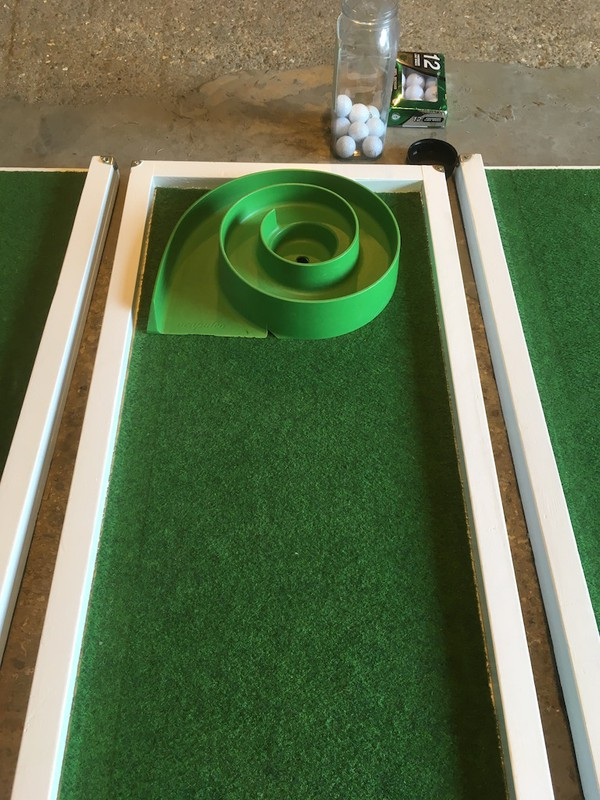 Second Hand Mobile 9 Hole Crazy Golf Activity for sale